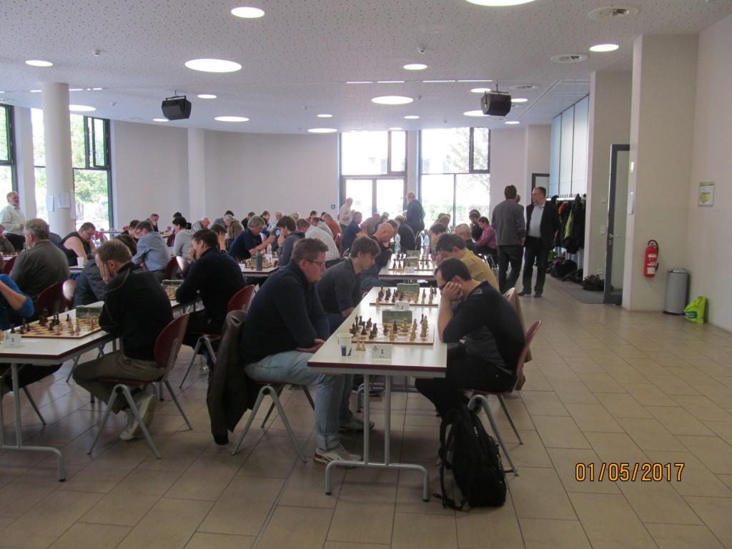 Die Veranstalter freuten sich über einen gut gefüllten Turniersaal